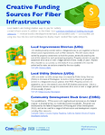Creative Funding Sources For Fiber Infrastructure