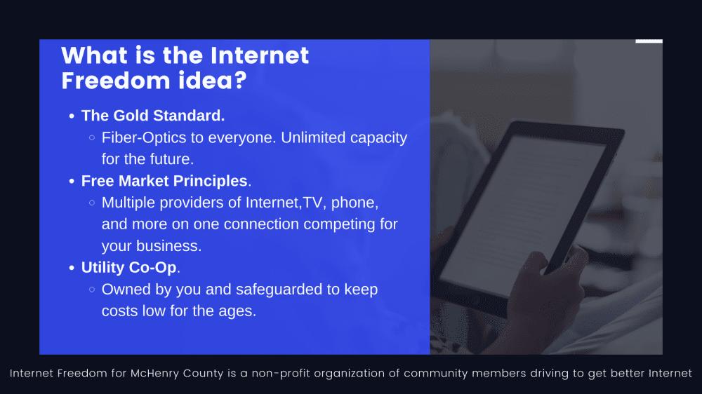 Internet Freedom Idea Photo